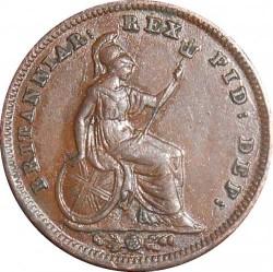 Moneda > ⅓farthing, 1835 - Reino Unido  - reverse