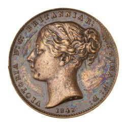 Coin > 1/52 shilling, 1841 - Jersey  - reverse