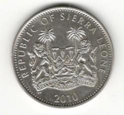 Moneta > 1dollaro, 2010 - Sierra Leone  (Scimmie - Orango) - reverse
