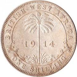 Монета > 1шиллинг, 1913-1920 - Британская Западная Африка  - reverse