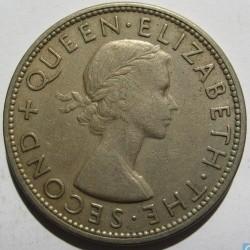 Coin > ½crown, 1954 - Southern Rhodesia  - obverse