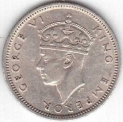 Coin > 6pence, 1939-1942 - Southern Rhodesia  - obverse