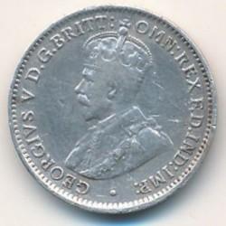 Moneda > 3pence, 1913-1919 - Àfrica Occidental Britànica  - obverse
