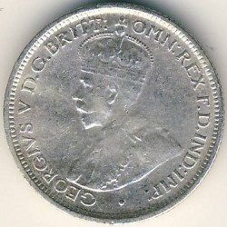 Moneda > 6 pence, 1913-1919 - Àfrica Occidental Britànica  - obverse