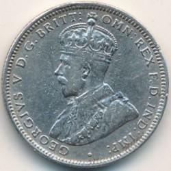 Moneta > 1szyling, 1913-1920 - Brytyjska Afryka Zachodnia  - obverse