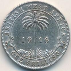 Moneta > 1szyling, 1913-1920 - Brytyjska Afryka Zachodnia  - reverse