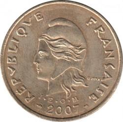Монета > 100франков, 2006-2017 - Французская Полинезия  - obverse