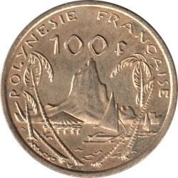 Монета > 100франков, 2006-2017 - Французская Полинезия  - reverse