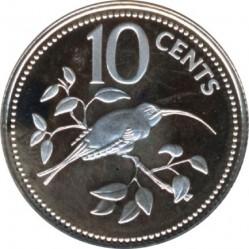 Münze > 10Cent, 1975-1981 - Belize  - reverse