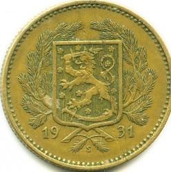 Münze > 5Mark, 1931 - Finnland  - obverse