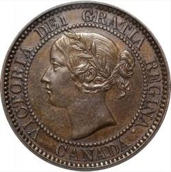 Moneta > 1centesimo, 1858-1859 - Canada  - obverse