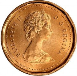 Coin > 1cent, 1989 - Canada  - obverse
