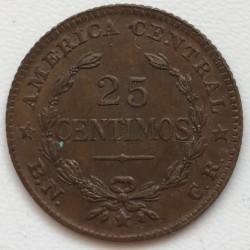 Монета > 25сентимів, 1944-1946 - Коста-Ріка  - reverse