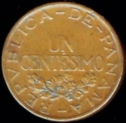 Moneta > 1sentesimų, 1935-1937 - Panama  - obverse