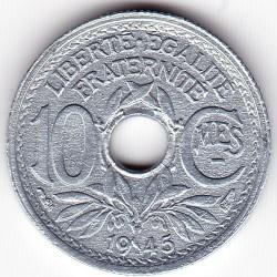 Pièce > 10centimes, 1945-1946 - France  - reverse