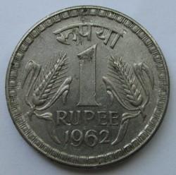 Münze > 1Rupie, 1962 - Indien  - reverse