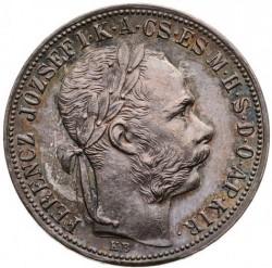 Монета > 1форинт, 1890-1892 - Венгрия  - obverse