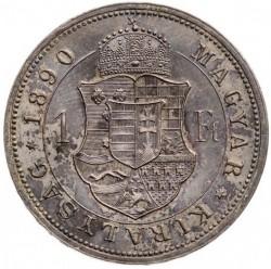 Монета > 1форинт, 1890-1892 - Венгрия  - reverse