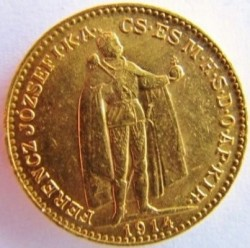 Moneta > 20corone, 1892-1915 - Ungheria  - obverse