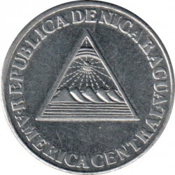 Moeda > 10centavos, 1994 - Nicarágua  - reverse