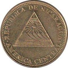 Монета > 10сентаво, 2002 - Нікарагуа  - reverse