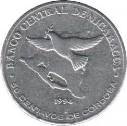 Münze > 50Centavos, 1994 - Nicaragua   - reverse