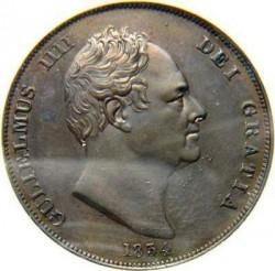Münze > 1Penny, 1831-1837 - Vereinigtes Königreich   - obverse