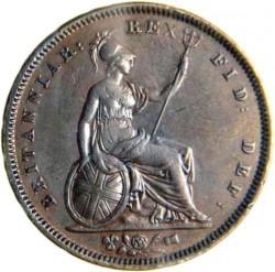 Münze > 1Penny, 1831-1837 - Vereinigtes Königreich   - reverse