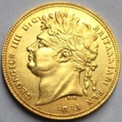 Moneta > 1suweren, 1821-1825 - Wielka Brytania  - obverse