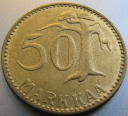 Münze > 50Mark, 1960 - Finnland  - reverse