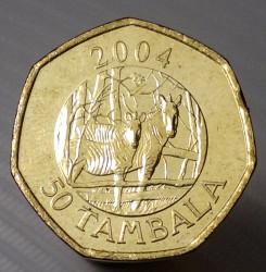 Moneda > 50támbala, 2004 - Malawi  (Escudo de armas en el anverso) - reverse