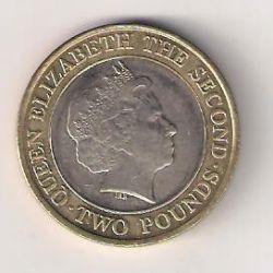 Moeda > 2libras, 1998-2006 - Jersey  - obverse