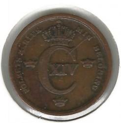 მონეტა > ⅓სკილინგბანკო, 1835-1843 - შვედეთი  - reverse