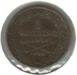 Moneta > ⅓scellinobanco, 1835-1843 - Svezia  - obverse