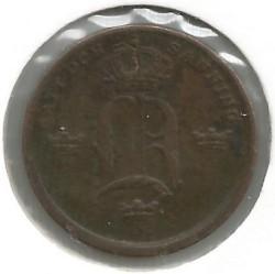 Moneta > ⅓scellinobanco, 1835-1843 - Svezia  - reverse