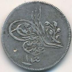 Moeda > 1qirsh, 1861 - Egito  (Old type) - obverse