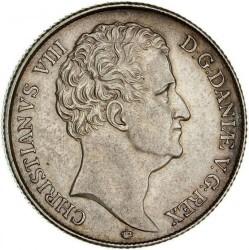 Moneta > 1speciedaleris, 1840-1847 - Danija  - obverse