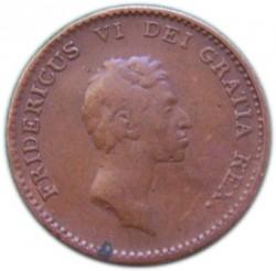 Кованица > 1ригсбанкскилинг, 1813 - Данска  - obverse