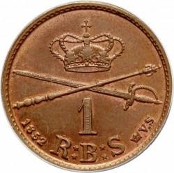 Moneta > 1rigsbankskilingas, 1852 - Danija  - reverse
