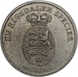 Moneta > 1speciedaleris, 1819 - Danija  - reverse