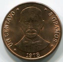 מטבע > 1סנטאבו, 1978-1981 - הרפובליקה הדומיניקנית  - reverse