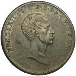 Moneda > 1speciedaler, 1820-1839 - Dinamarca  - obverse