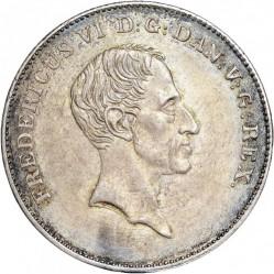 Moneta > 1rigsbankdaler, 1833-1839 - Dania  - obverse