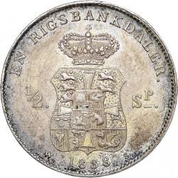 Moneta > 1rigsbankdaler, 1833-1839 - Dania  - reverse