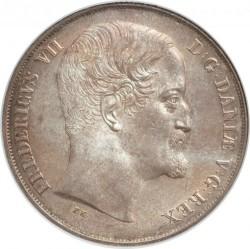 Moneta > 1speciedaler, 1849-1854 - Dania  - obverse