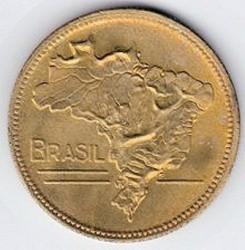 Coin > 5cruzeiros, 1942-1943 - Brazil  - obverse