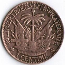 Монета > 1сантим, 1881 - Гаити  - reverse