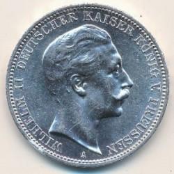 Mynt > 3mark, 1908-1912 - Det tyske keiserrike  - reverse