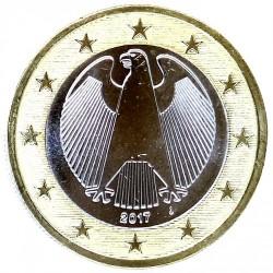 Moneta > 1euras, 2017 - Vokietija  - obverse