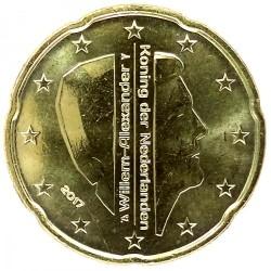 Moneda > 20centavos, 2017 - Países Bajos  - obverse